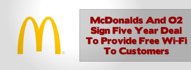 Mc Donalds wifi for customers only