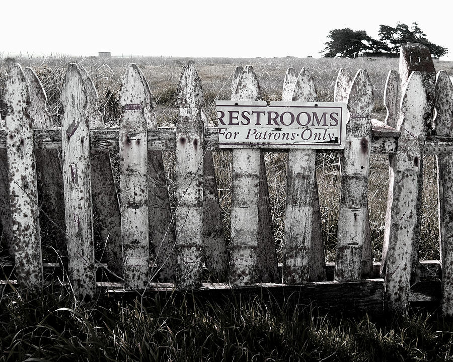 Restrooms for patrons only
