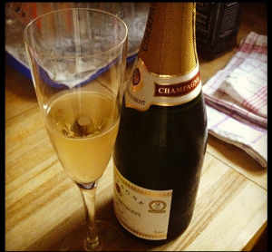Champagne Treat