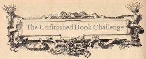 Vintage Frills Unfinished Book Challenge