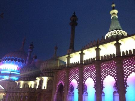 The Royal Pavilion Brighton at Night