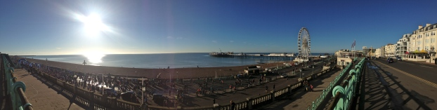 Panoramic Brighton Seafront