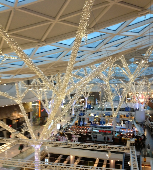 Westfield London Christmas Decor