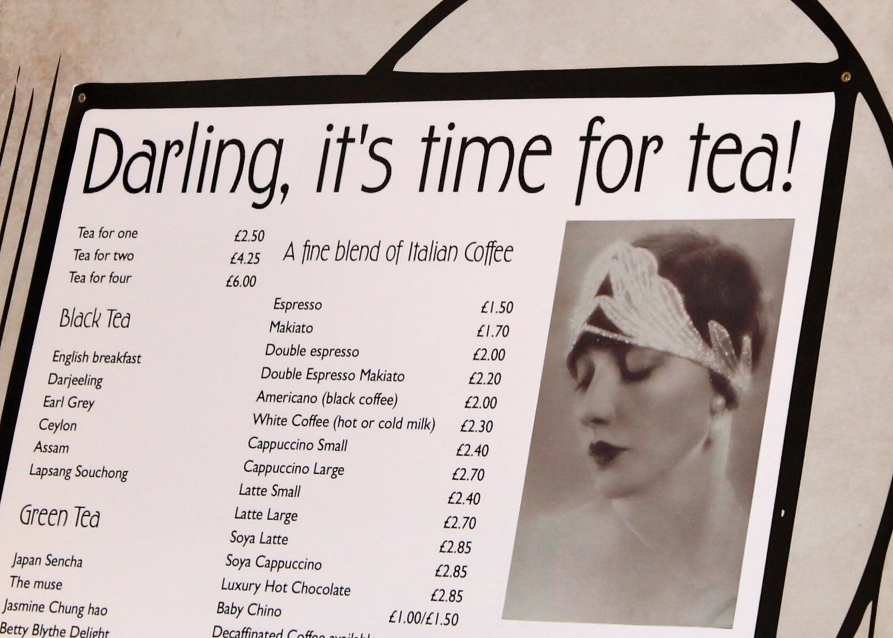 Darling It's Time for Tea!