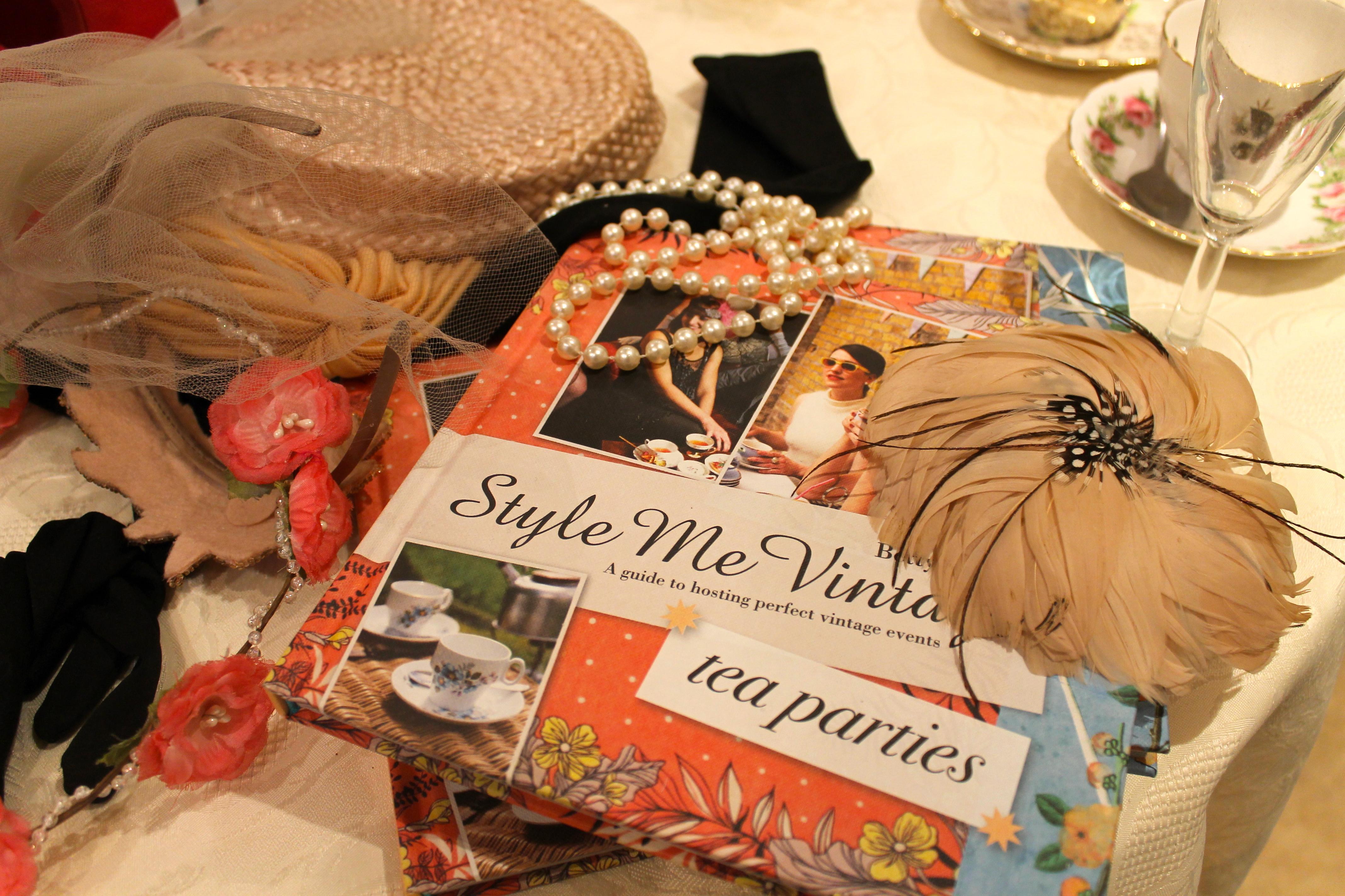 Accesories @ Betty Blythe Kensington Style Me Vintage Book Launch