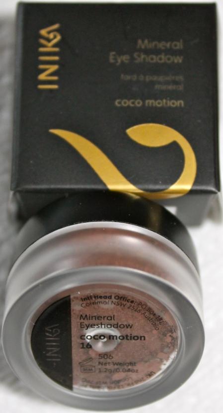 Inika Mineral Eye Shadow Coco Motion
