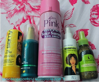November Empty Hair Products