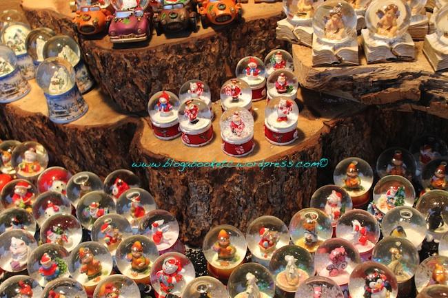 Christmas globes 2012