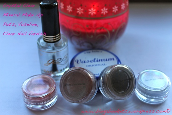 Crystal Clear Make up etc