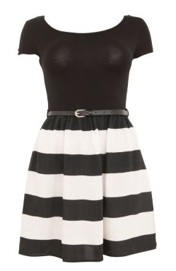 Black 2 in 1 T Shirt Dress £19.99