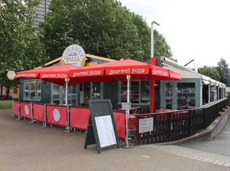 gourmet pizza gabriels wharf
