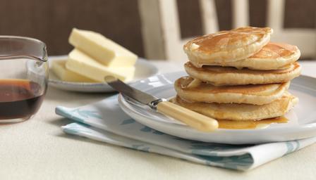 homemade bbc american pancakes