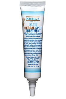 kiehls blue herbal spot treatment