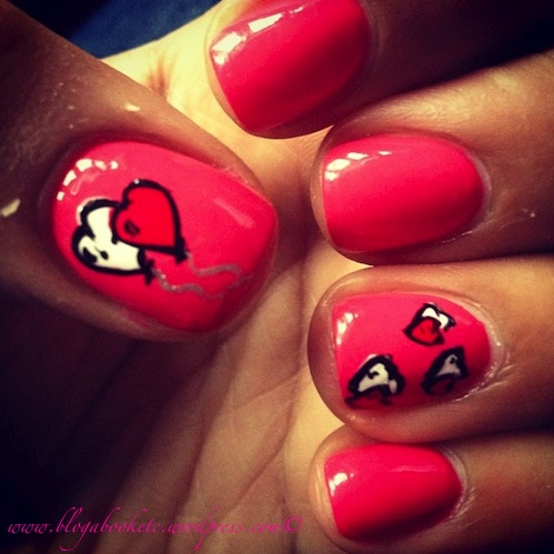 nails valentines 2013