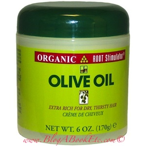 Organic Root Stimulator Olive Oil Creme for dry hair