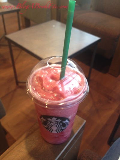 Raspberry & Blackcurrant Frappe