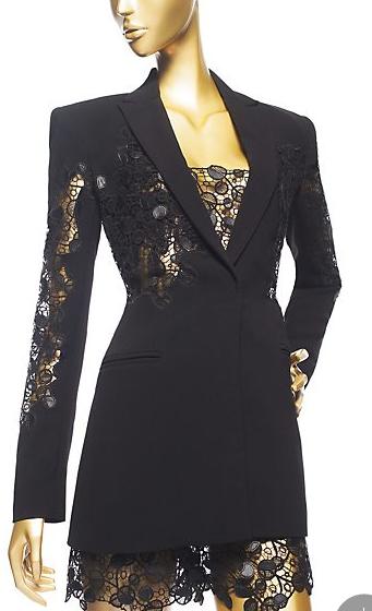 Versace Macrame Embellished Jacket £1805
