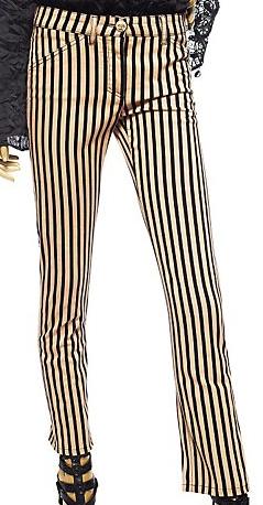 Versace Striped Capri Trousers £355
