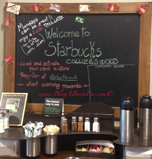 Welcome to Starbucks Colliers Wood