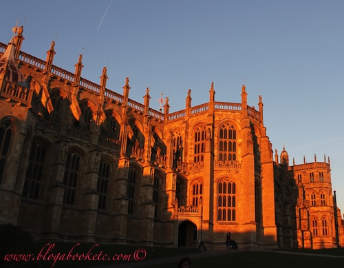Windsor Castle Chapel at Sundown