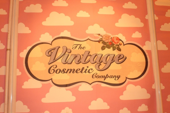 The Vintage Cosmetic Company Sign