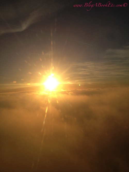 Sun from the plane