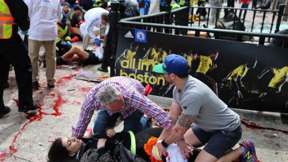 Boston Marathon Attack Runner Injured