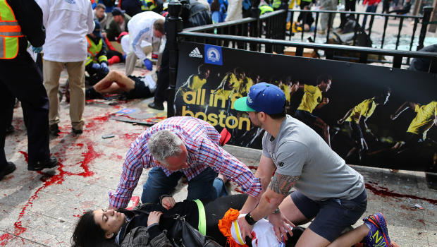 Boston Marathon Attack Runner Injured
