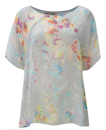 Label Lab Smudge Print Swing Top £36.00