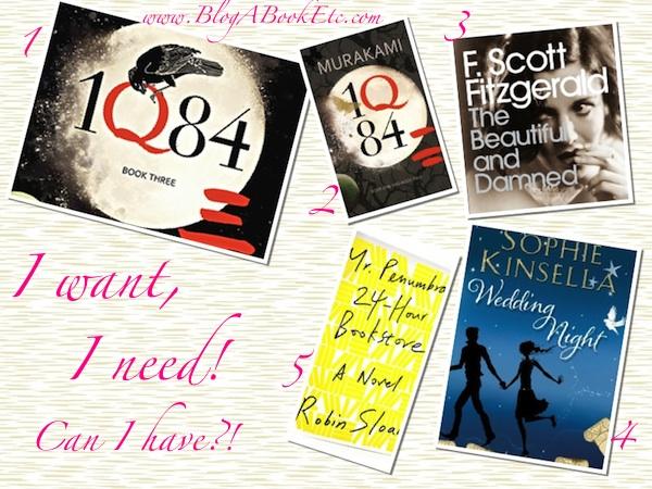 May Books Wishlist