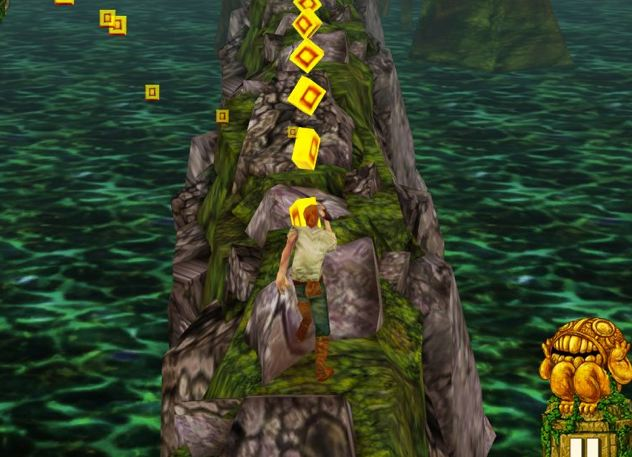 Temple Run shot 2