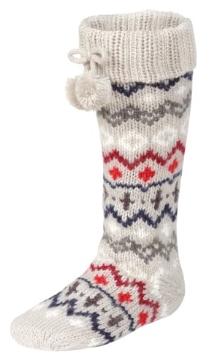 Fair Isle Bootie Socks M&S