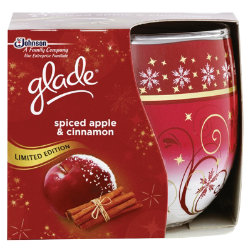glade spiced apple and cinammon