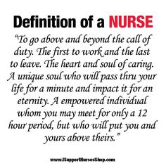 nurse definition