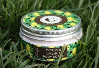 Sweet Cecily's Citrus & Walnut Body Scrub £9.95
