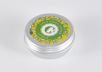 sweet cecily's lime and mango lip balm £2.95