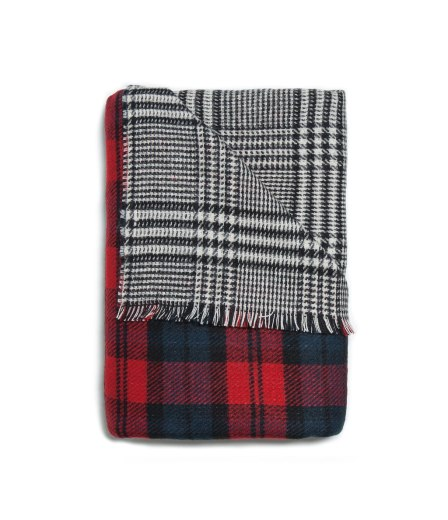 zara two sided soft scarf