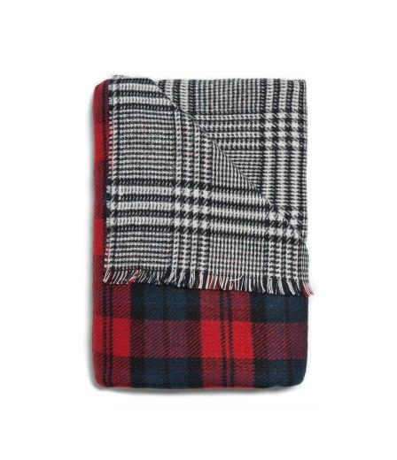 zara two sided soft scarf