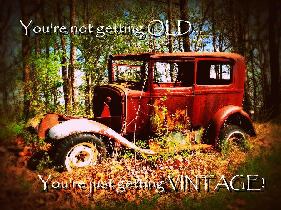 not old vintage