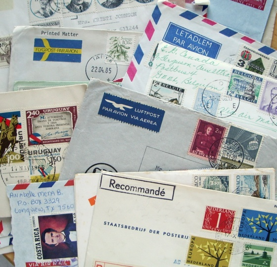 air mail letters
