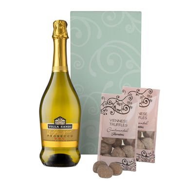 Prosecco Hamper with Truffles