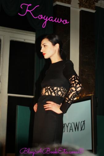 Koyawo Black with detail dress