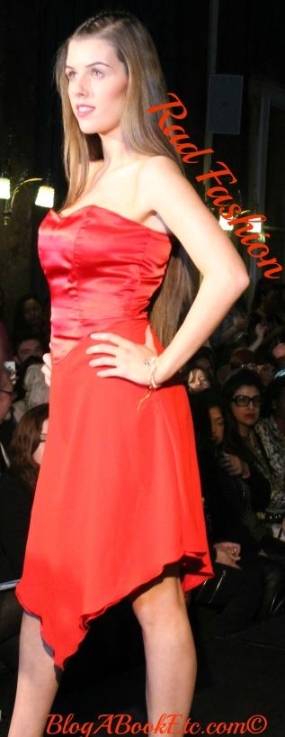 rad fashion red dress