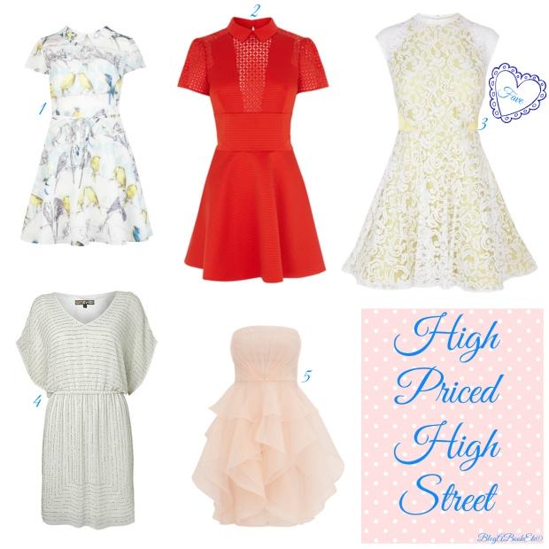 High Priced High Street