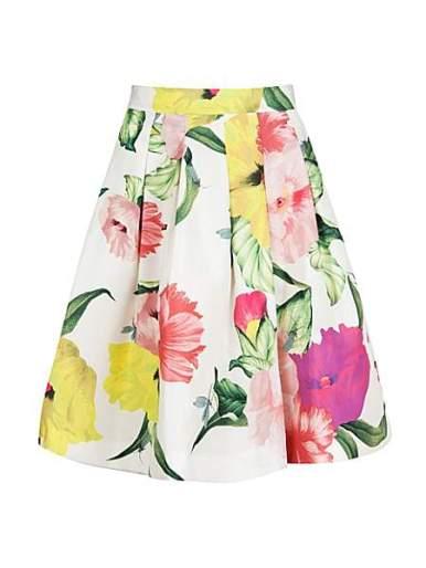 Ted Baker Muirin Floral Print Skirt £139 ted baker