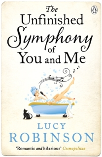 The Unfinished Symphony of You & Me, Lucy Robinson, Books, Reading, Fiction, Chick Lit, Blogging