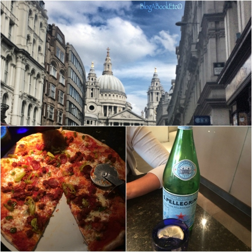 Pizza Express, Pizza, Food, Pellegrino, Sparkling Water, Food & Drink, Beverages, St Pauls, London, Tourist