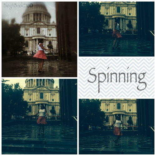 Spinning, St Paul's Cathedral, London