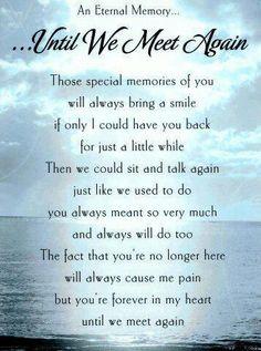 Until We Meet Again, Gone but not forgotten, Blog A Book Etc
