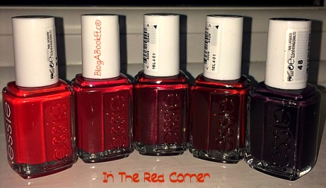 In The Red Corner, Essie, Nail Varnish, Nails, Beauty, Red, Blog A Book Etc, Fay